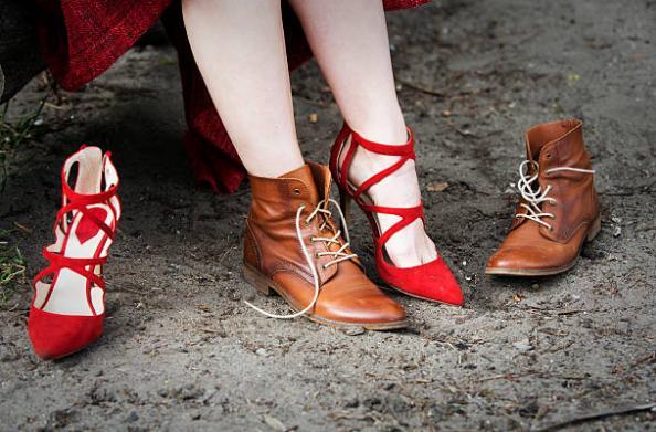 Удобни обувки, вени