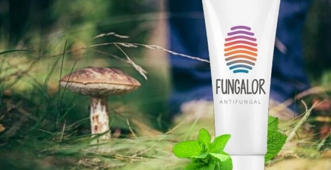 Fungalor Опаковка и гъба