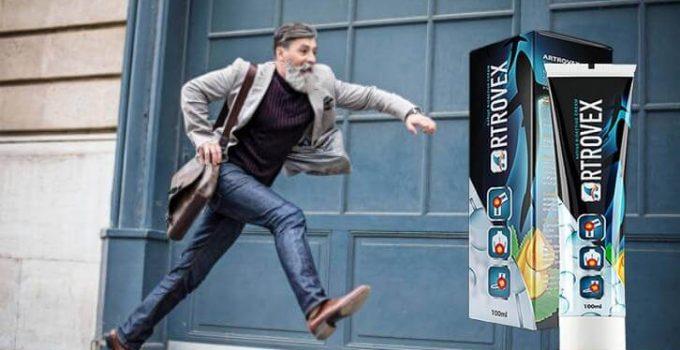 artrovex крем, скачащ мъж