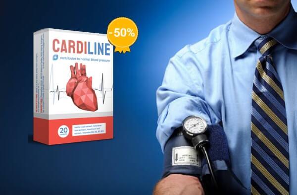 капсули cardiline, високо кръвно