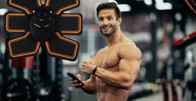ems trainer, мъж с мускули
