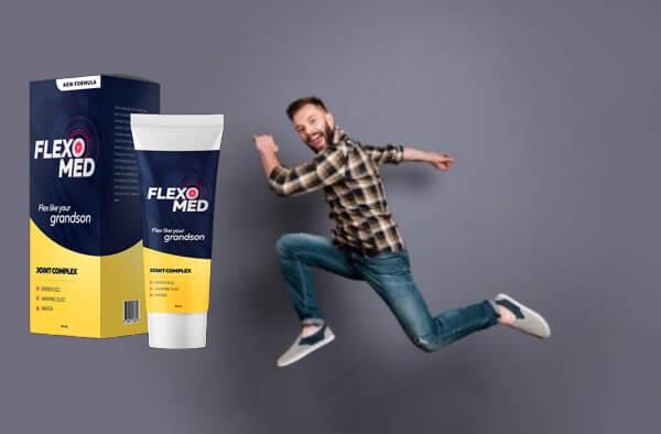 FlexoMed гел, доволен мъж