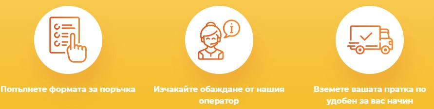 поръчка онлайн