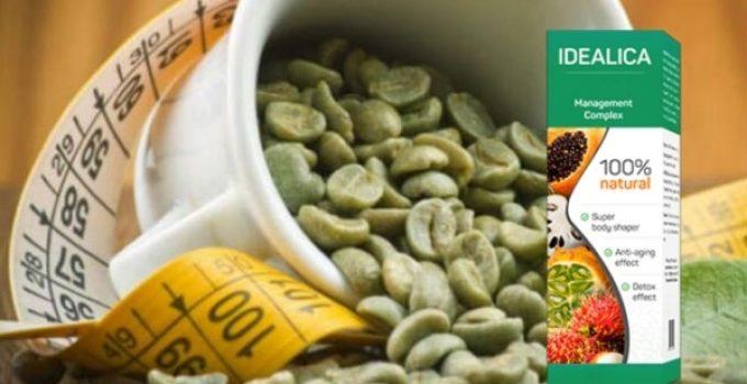 idealica зелено кафе
