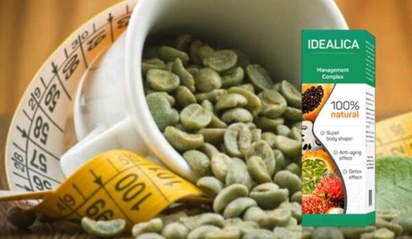 Idealica, зелено кафе, сантиметър