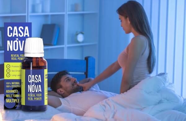 капки, жена и мъж в легло