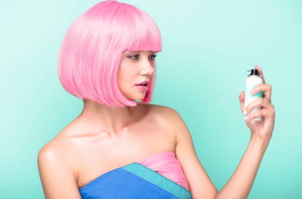 момиче, продукт за коса