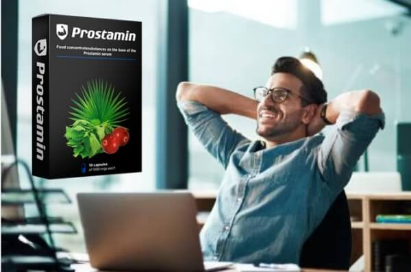 prostamin, здрав мъж